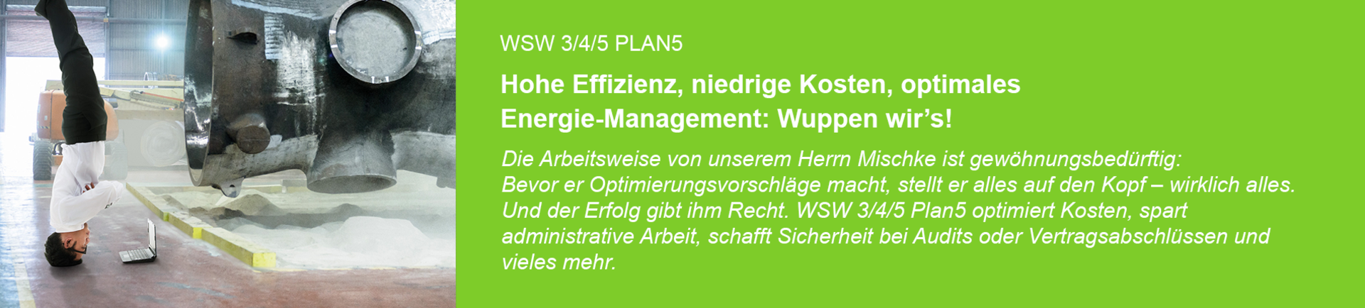 WSW 3/4/5 PLAN5 - Wuppen wir's!